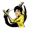 Bruce Lee Stickers for iMessage