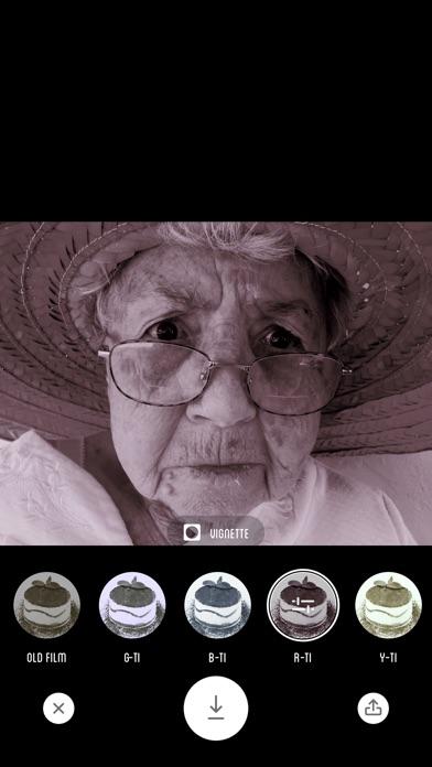 Screenshot of Fotocamera Tiramisu - Filtro Bianco e Nero4