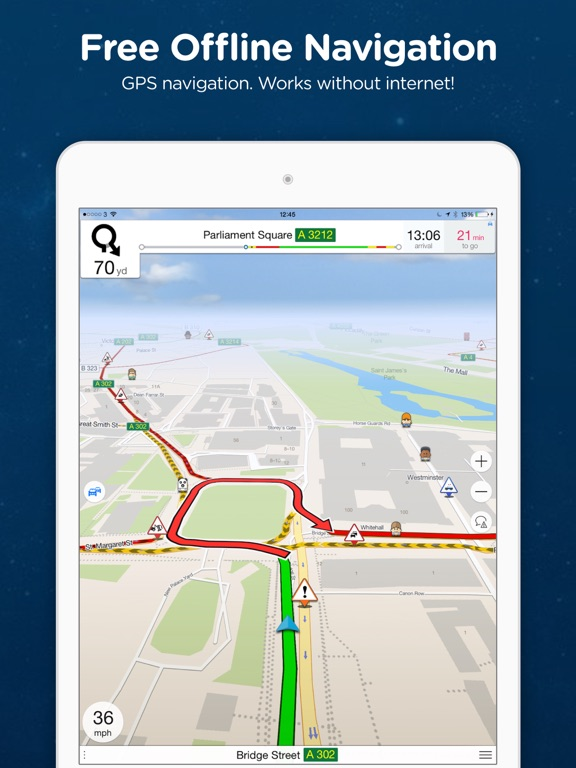 Navmii GPS USA Offline Navigation And Traffic On The App Store - Us road map app offline