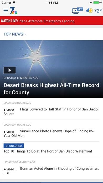 Nbc 7 San Diego review screenshots