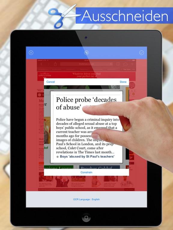 Text-Extrahierer Profi Screenshot
