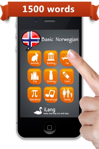 Learn Norwegian ™ screenshot 1