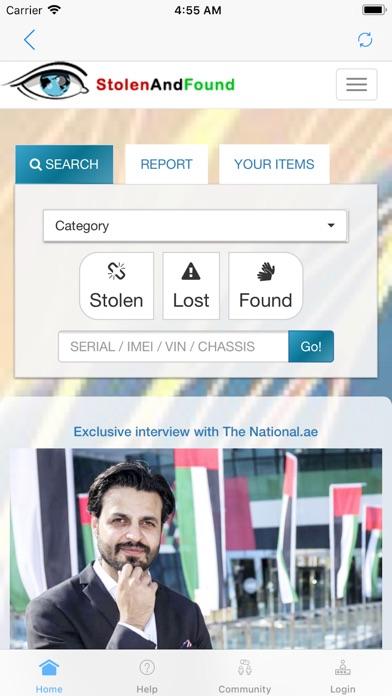 download StolenAndFound appstore review