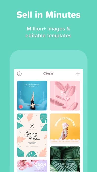 Over—Edit & Add Text to Photos Screenshot