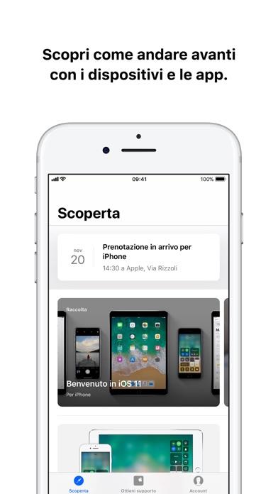 Supporto Apple Screenshot