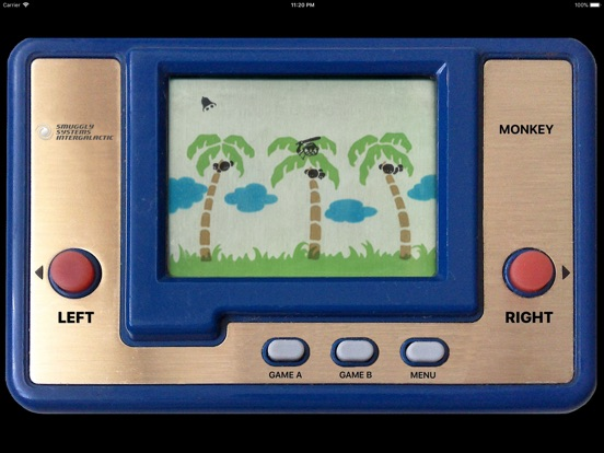 Monkey LCD Screenshots
