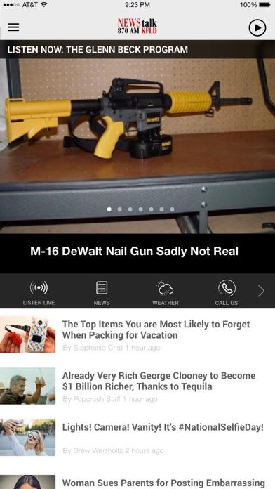 Newstalk 870 KFLD - Tri-Cities screenshot 1