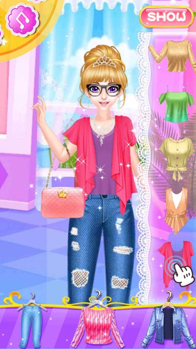 Fashion salon star girl app report on mobile action for 5 star mobile salon