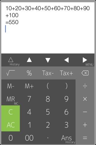 Calculator PanecalST Plus screenshot 1