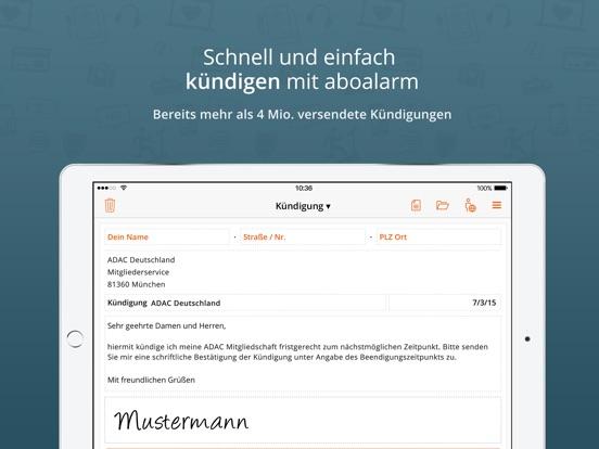 aboalarm - Verträge schnell und einfach kündigen Screenshot