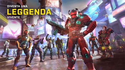 Screenshot of Shadowgun Legends2