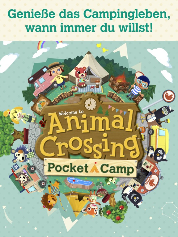 Animal Crossing: Pocket Camp iOS Screenshots