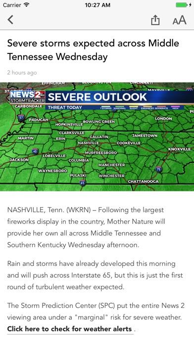Wkrn Nashvilles News 2 review screenshots