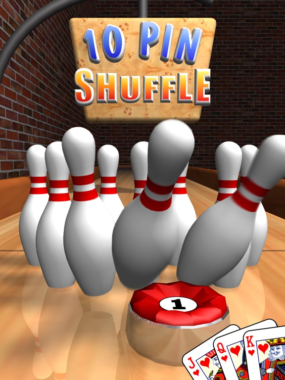 Screenshot #1 for 10 Pin Shuffle for iPad