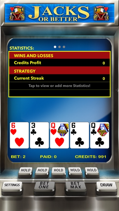 Casino Video Poker for the GENIUS