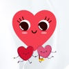 Love and Heart Stickers - Emojis, Emoticons