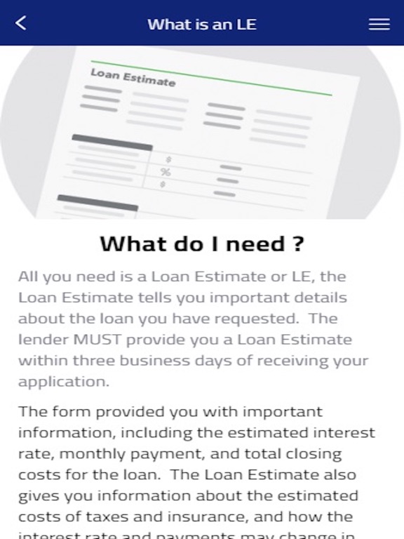 RatecheckLoan On The App Store