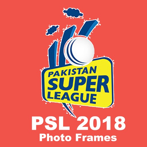 PSL 2018 Teams Photo Frames iOS App