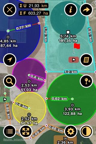 Planimeter - Measure Land Area & Distance on a Map screenshot 1