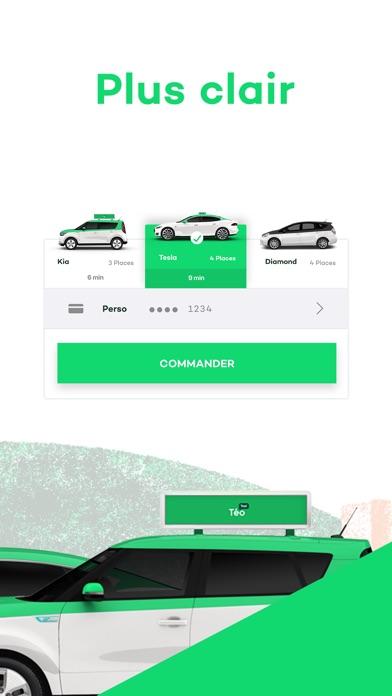 Téo TaxiCapture d'écran de 3
