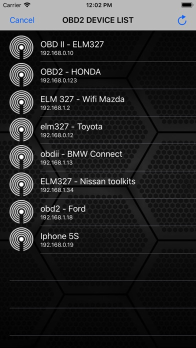 ScanMaster for ELM327 OBD-2 Screenshot 3