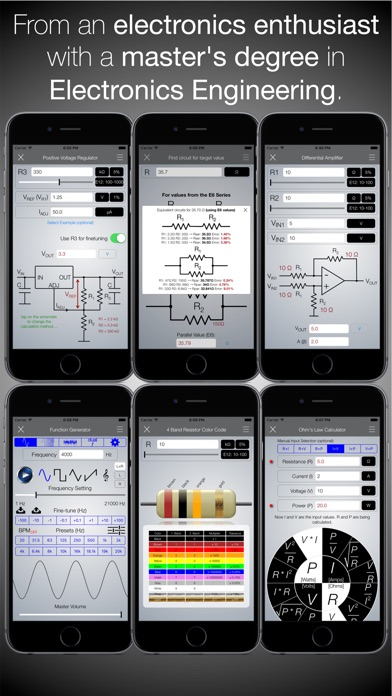 Electronics Engineering ToolKit PRO Screenshots