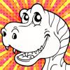 Color Mix n' Paint - Dinosaur
