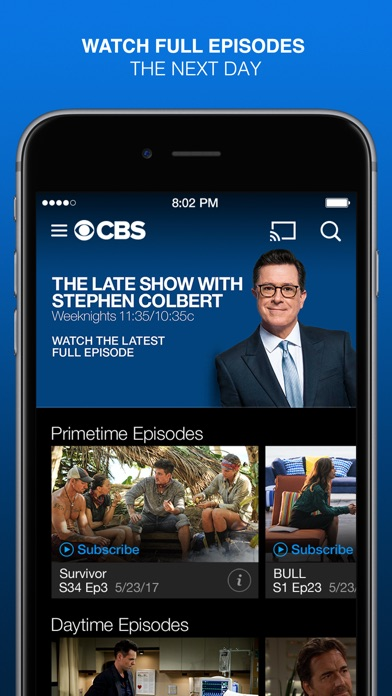 CBS Full Episodes and Live TV app