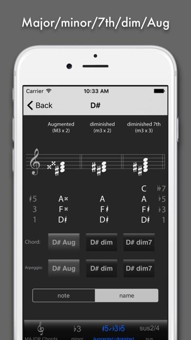 Chord & Triad Screenshots