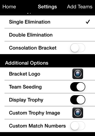 Bracket Maker Pro screenshot 3