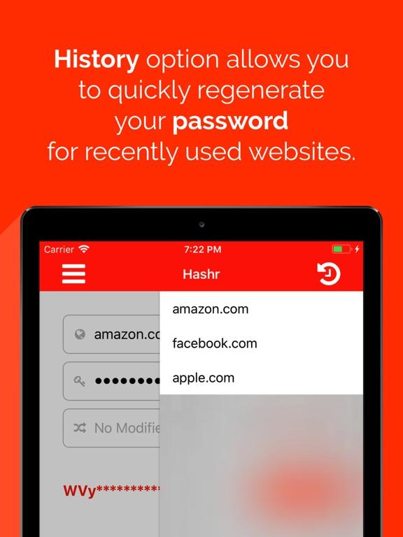 Hashr - Secure Passwords Screenshots