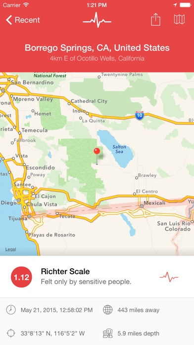 download My Earthquake Alerts & Feed apps 1