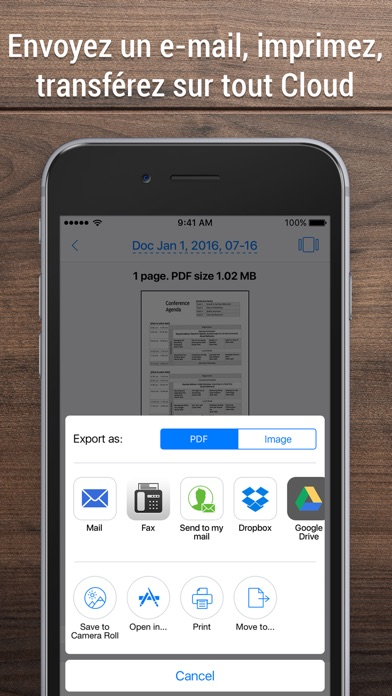 download iScanner - Dcanner document. apps 1