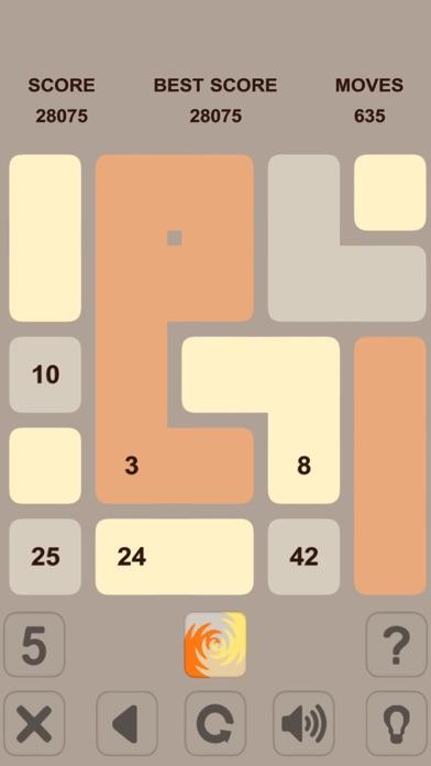 Blocks Numbers Puzzle Скриншоты3