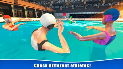 Water Polo Swimming Sports 3D screenshot 3