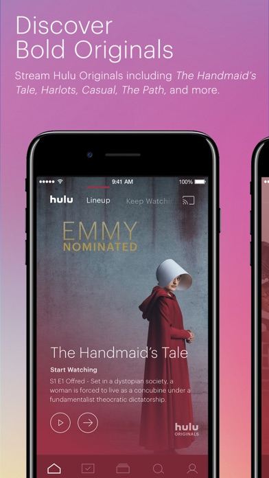 Hulu: Watch TV Shows & Movies iPhone