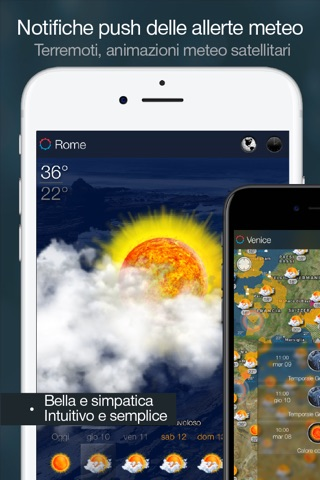 eWeather HD - Weather & Alerts screenshot 3