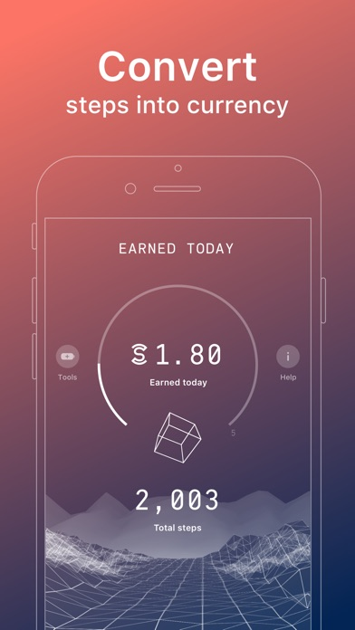 Screenshot of Sweatcoin - Sweat for Coin App