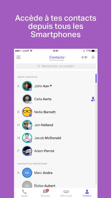 download onoff - Numéros, SMS, Appels apps 2