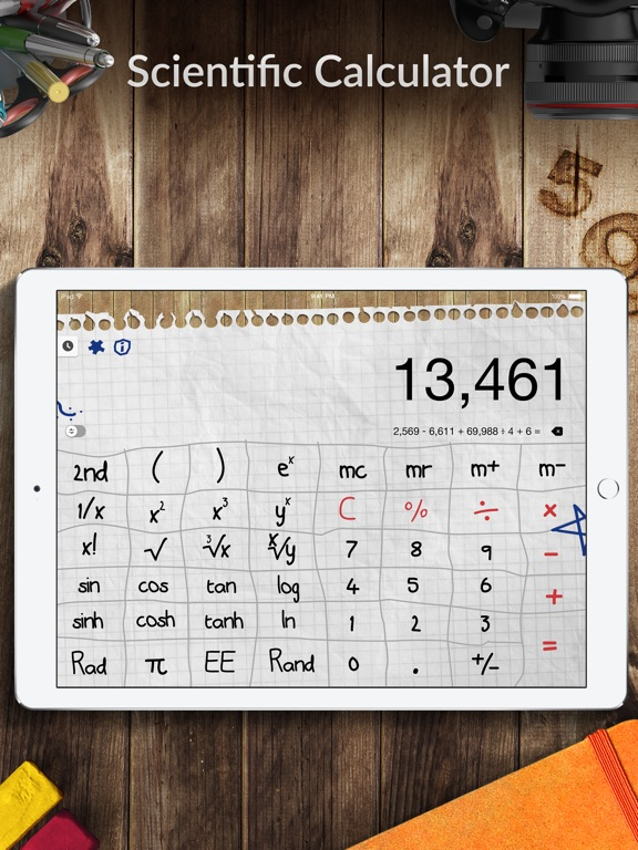 Screenshot #2 for Calculator Pro+ for iPad