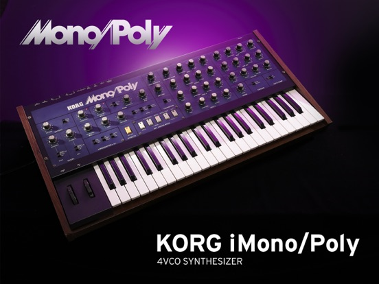 KORG iMono/Poly Screenshots