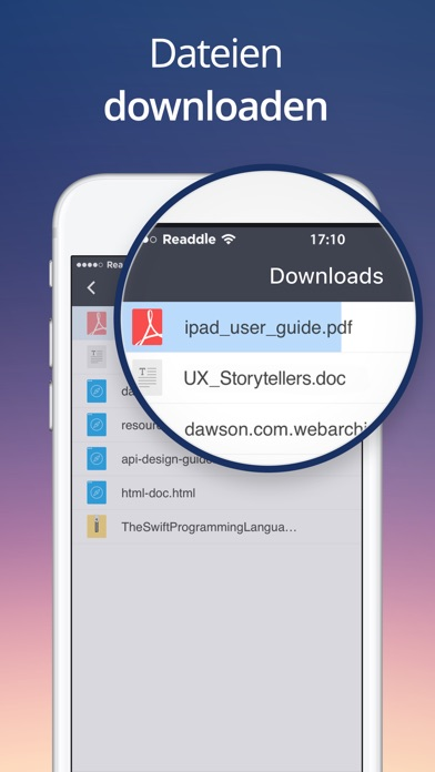 Documents von Readdle Screenshot