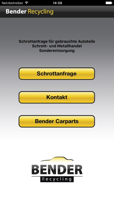 Screenshot von Bender Recycling2