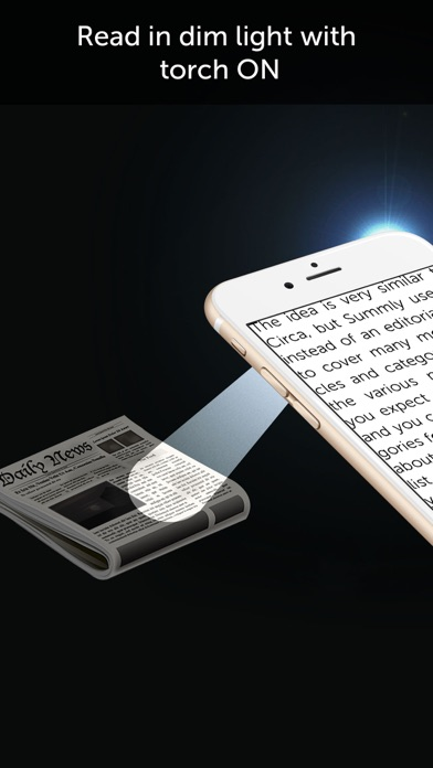Magnifier with Flash Light Screenshots