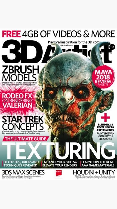 3d Artist Magazine review screenshots