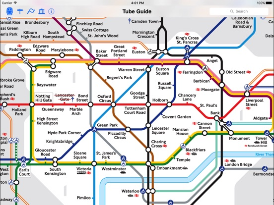 London Tube Map and Guide Скриншоты7