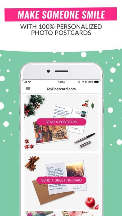 MyPostcard Photo Postcard App Screenshot