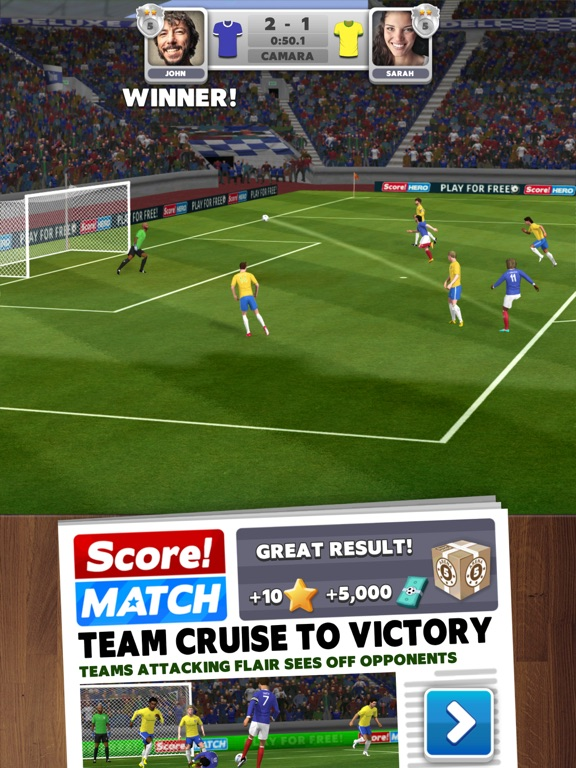 Image of Score! Match for iPad