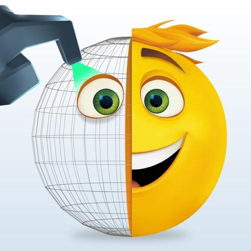 The Emoji Movie Maker app for ipad