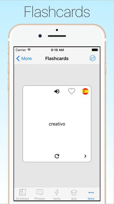 Screenshot #10 for Spanish English Dictionary +